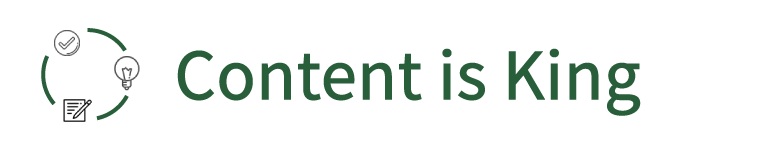 Content Is King logo